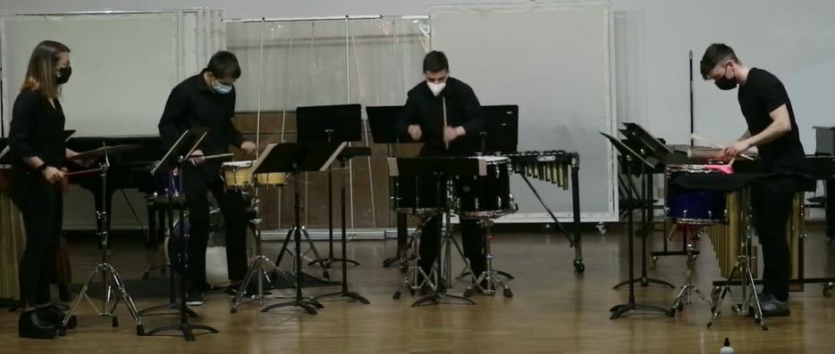 Alumnos de Música de Cámara. CPMZ